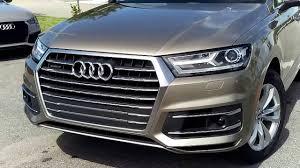 Audi Q7 Colors - 2017 audi q7 quattro in carat beige at audi west palm beach youtube