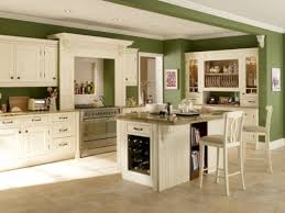 Traditional White Kitchens - best kitchen ideas for white cabinets with green walls my home