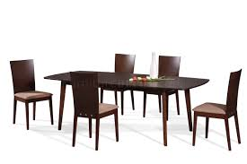 Beech Kitchen Table by Burn Beech Modern Dining Table W Extension U0026 Optional Chairs