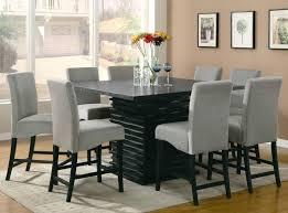 Black Square Dining Table Black Square Dining Room Table Dining Tables Astounding Black