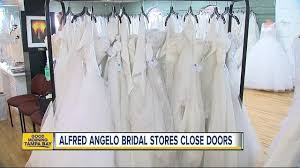 bridal stores alfred angelo bridal retailer reportedly closing its doors