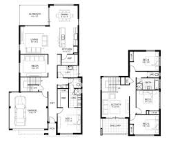 4 bhk house plan images bedroom floor plans fine for one storey