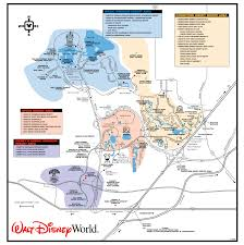 Walt Disney World Resorts Map by Get To Know The Disney World Transportation And Ticket Center Ttc
