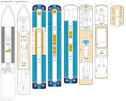 cruise ship floor plans adonia deck 4 deck plan tour