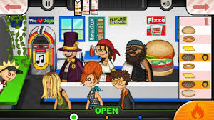 jeux de cuisine avec papa louis papa s burgeria to go applications android sur play