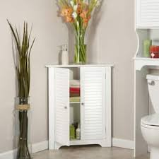 White Corner Cabinet Bathroom Bathroom Cabinets Storage For Less Overstock