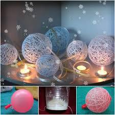 how to diy decorative thread balls