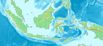 Topographic Map Of The World by Large Topographical Map Of Indonesia Indonesia Large