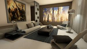 Tv Accent Wall by Living Room Mounted Flat Widescreen Tv Wood Accent Wall