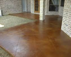 Stained Concrete Patio Images by Stained Concrete Patio Images The Combination Of The Staining