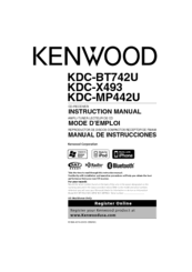 kenwood kdc mp442u manuals