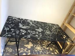 Ikea World Map Desk Appealing Ikea Glass Desk For Inspirations Desk Ideas Ikea