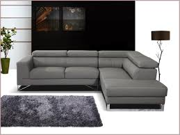canapé d angle en cuir gris terrific canape d angle cuir gris style 1001736 canapé idées