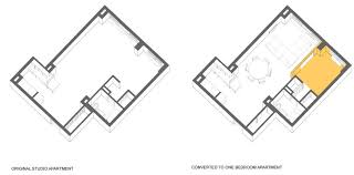 adding a bedroom adding bedroom to studio apartment fontan architecture