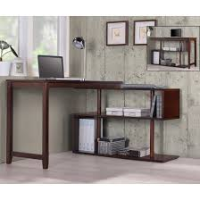 L Shaped Modern Desk by International Caravan U0026 039 Hamburg U0026 039 Contemporary Swing Out