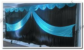 Blue Swag Curtains Slate Blue Sheer Curtains Decor Mellanie Design