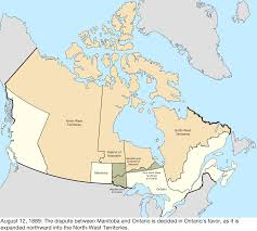 Canada Map Labeled by Territorial Evolution Of Canada Wikipedia