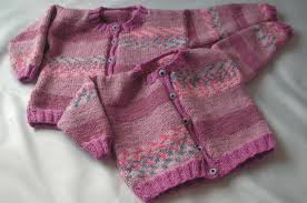 Knitting Galore Easy Knit Baby To Toddler Button Up Cardigan