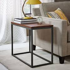 Living Room Side Table Narrow Side Tables For Living Room Inside Small Contemporary 8