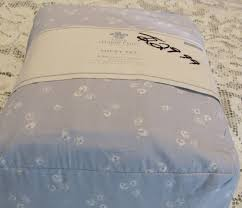 Target Simply Shabby Chic by Simply Shabby Chic Sheet Target Set Cal King Blue White Cotton