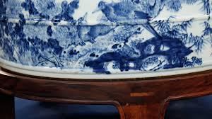 chinese vase appraisal appraisal chinese blue and white porcelain bath basin