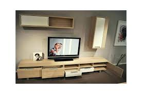 meuble murale cuisine meuble mural tv taclac bois et laque blanche mur meuble mural tv