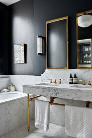 bathroom suites ideas marble suite with brass accents bathroom design ideas