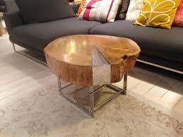 ferrum metal metal chairs tables tree log table