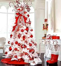 White Christmas Tree Decorated Top 10 Inventive Christmas Tree Themes Christmas Tree Christmas