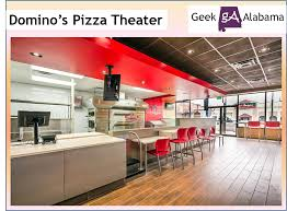 is dominos open on thanksgiving domino u0027s pizza theater concept is a great idea u2013 geek alabama