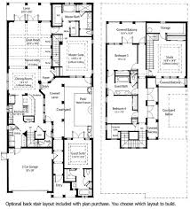 courtyard floor plans house plans with courtyards plan md mediterranean villa with two