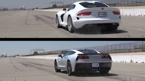 viper or corvette why compare the srt viper to the corvette stingray z51