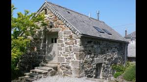 cozy and romantic lofty stone cottage perfect small house design