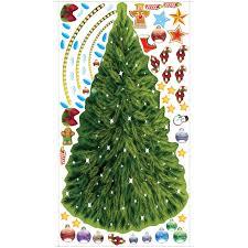 oshman engineering design kitchen christmas tree wall decals christmas lights decoration