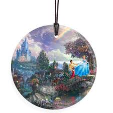 trend setters kinkade cinderella wishes upon a