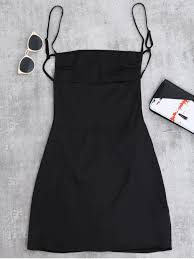 pictures of dresses backless mini slip dress black casual dresses s zaful