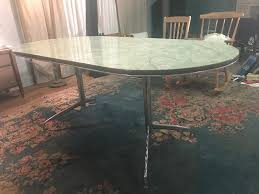Dining Room Furniture Glasgow Vintage Retro 1950 U0027s Green Kitchen Or Dining Room Table Dining