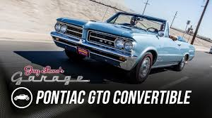 pontiac 1964 pontiac gto convertible jay leno u0027s garage youtube