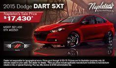 dodge dart lease deals chrysler dodge jeep ram incentives rebates specials in st