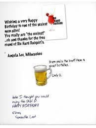 groupcard birthday card for bruce willis