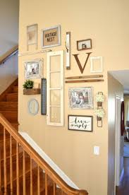 wall ideas stair wall decor pictures staircase wall decorating