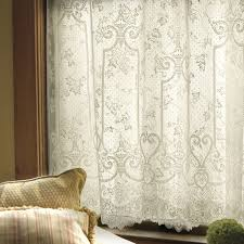 Heritage Lace Shower Curtains by Heritage Lace English Ivy Curtain Panel Hayneedle