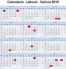 Calendario 2018 Feriados Portugal Calendario Laboral 2018 Galicia Y 15 Festivos Vigopeques