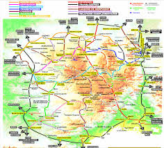 Provence Map Walks In Provence Pont Du Gard Walking Holidays In France