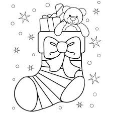 christmas stocking coloring u0026 entertainment
