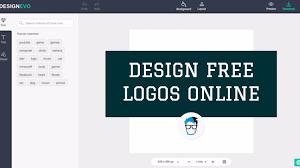 design logo free online software how to design free logos online logo maker online