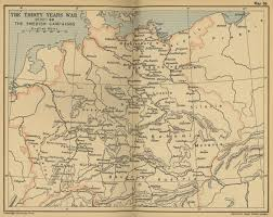 Map Of Germany And France by Map Of The Thirty Years War 1630 1648