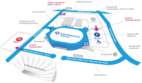entrances barclaycard arena