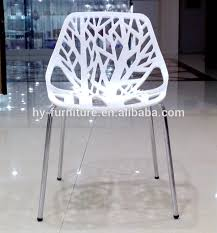 white plastic tree dining chair hyl 040 buy white chair tree