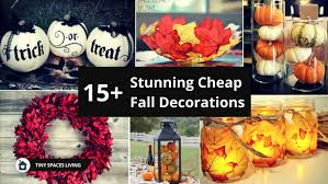 15 Cheap Fall Decorations That I Absolutely Love Tiny Spaces Living